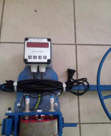 Станок для перемотки-измерения провода