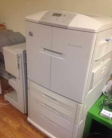 HP 9500n - лазерный цветной принтер А3 формата
