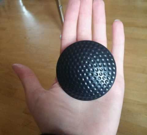 Радиочастотный противокражный датчик Golf ракушка