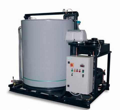 Установки охлаждения воды с льдоаккумуляторами