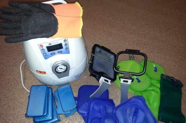 Термопресс и чехлы для сублимации
