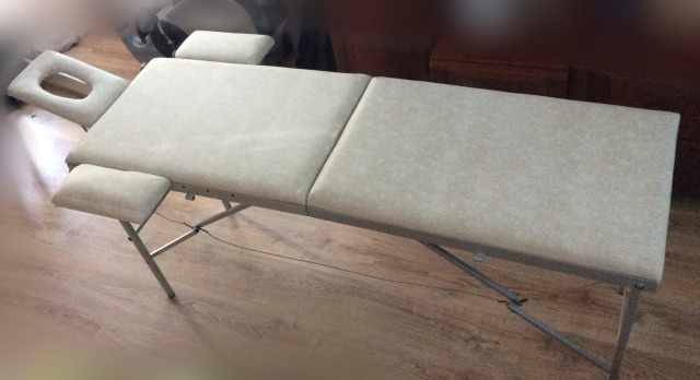 Стол массажный раскладной двухсекционный