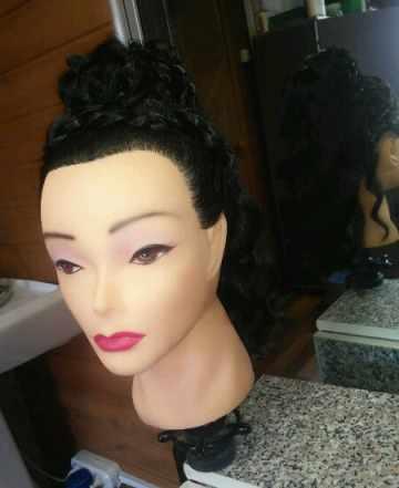 Манекен (балванка) для начинающих парикмахеров