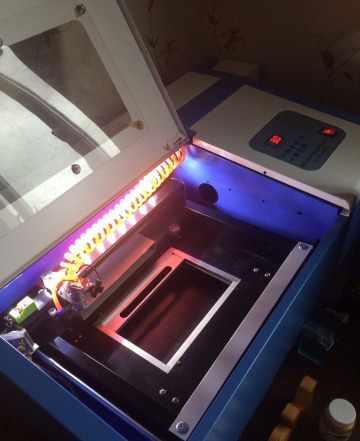 Лазерный co2 чпу станок гравер/резак 50w lz-m40b н