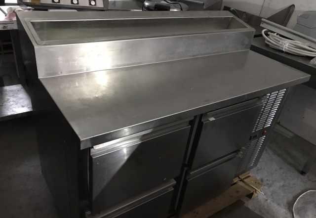 Холодильный стол для пиццы, саладетта