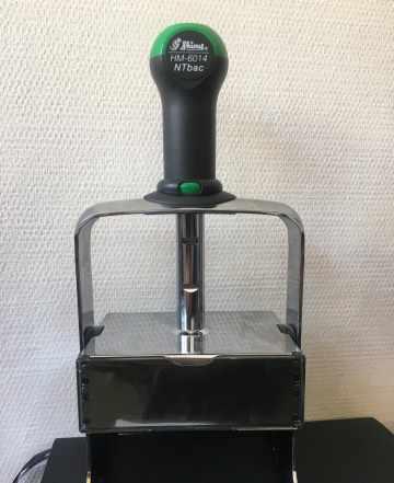 Печать, оснастка для штампа