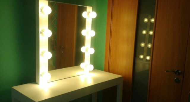 Зеркало со столом