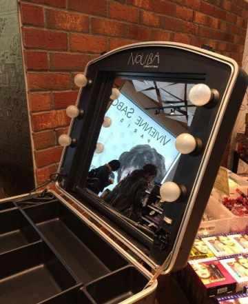 Студия чемодан для визажа + стул