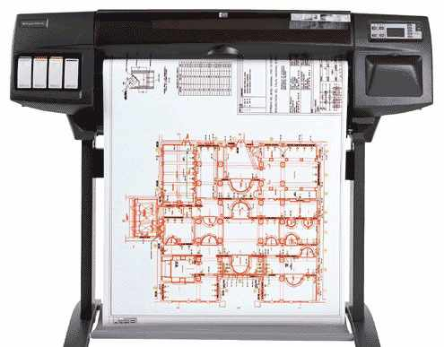 Плоттер HP Designjet 1050c plus