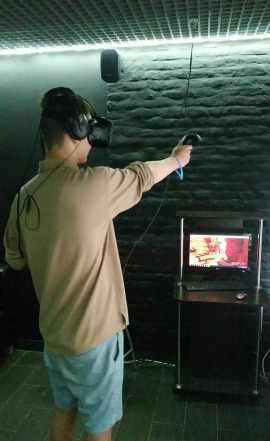 Оборудование для клуба виртуальной реальности