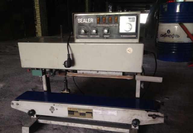 Автоматически запайщик конвейерного типа с печатью