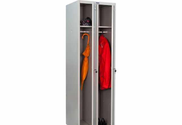 """Шкафы металлические для одежды """"практик"""" б/у"""
