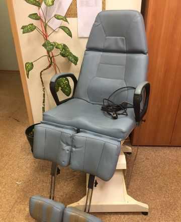 Кресло педикюрное Brusaferri lemi с 1 электромотор