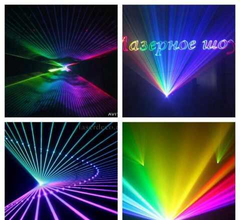 Лазерный проектор новый