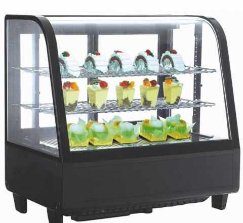 Витрина холодильная Koreco RTW100L черная