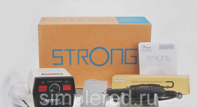 Аппарат Strong 204/102L для маникюра и педикюра
