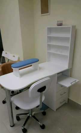 Новый маникюрный складывающийся стол