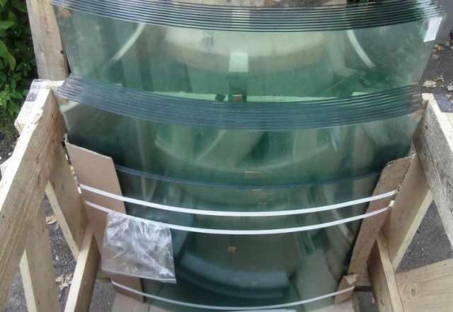 Стекло для холодильных витрин Golfstream и Cryspi