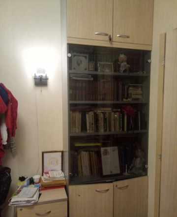 Шкаф Венге для офиса с тумбами