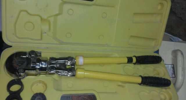 Пресс для металлопластиковых труб
