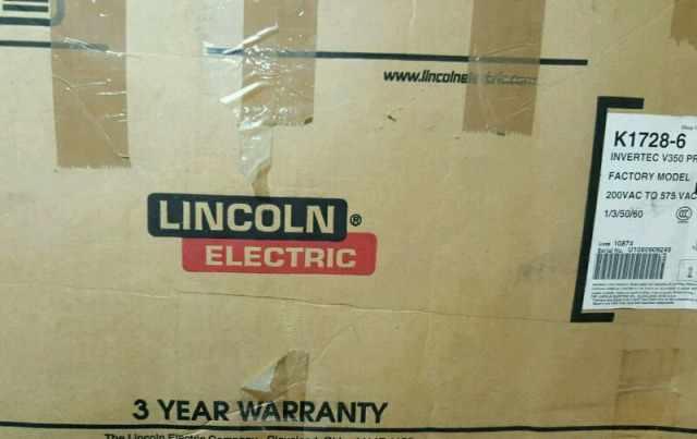 сварочный аппар Lincoln V350PRO K1728-6 USA