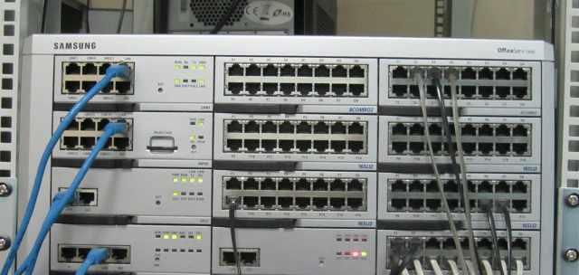Офисная IP атс PBX Samsung OfficeServ 7400