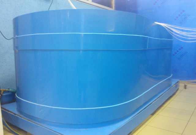 Бассейн для продажи рыбы