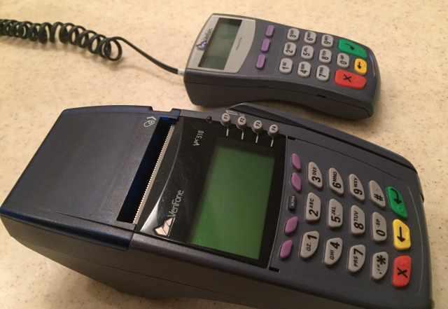 Платежный POS-терминал VeriFone omni 5150