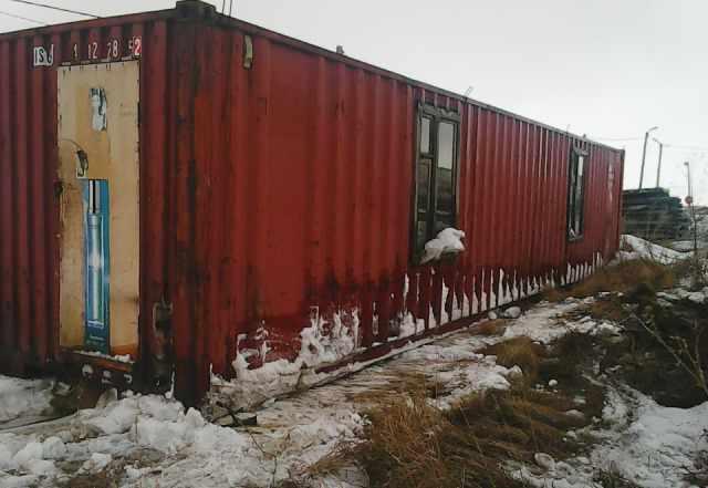 Бытовку-контейнер 12м