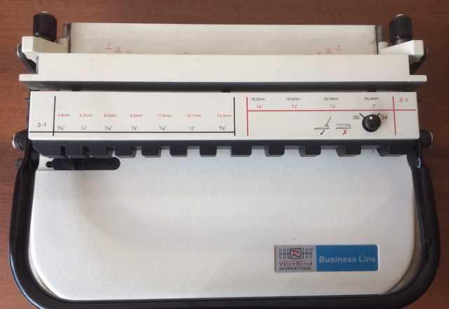 Брошюровщик Wire-O PB38