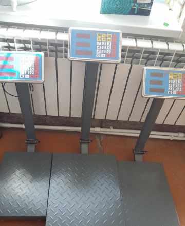 Весы торговые электронные150кг 300кг розница опт