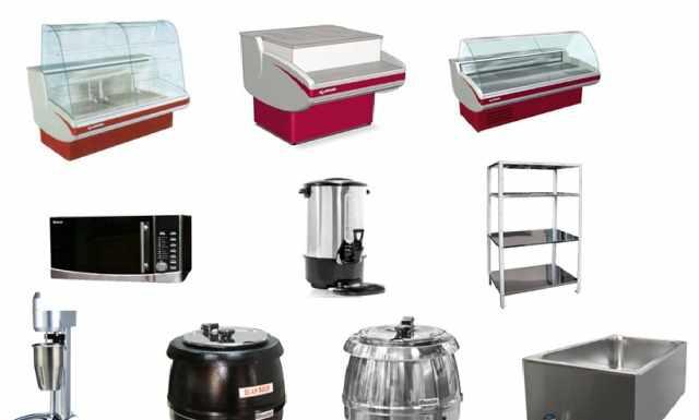 оборудования для кулинарии, магазина, кафе