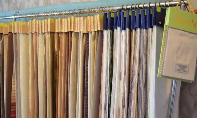 образцы шторных ткакней