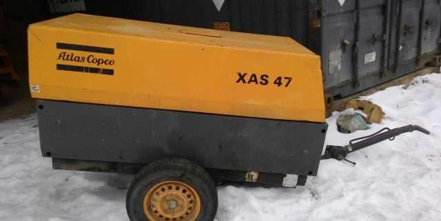 Компрессор дизельный винтовой Atlas Copco XAS 47
