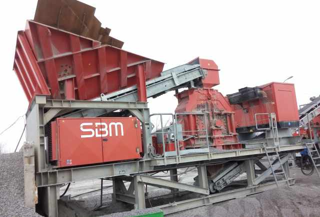 Дробильно-Сортировочный Комплекс SBM-SMR