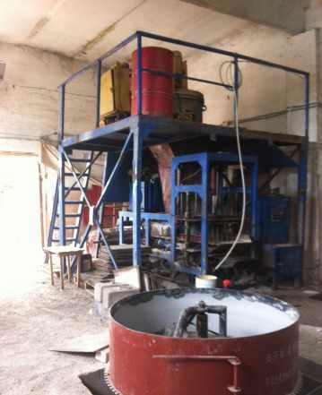 Оборудование по производству керам блоков