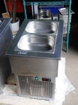 Б/у открытый холодильный прилавок (встройка)