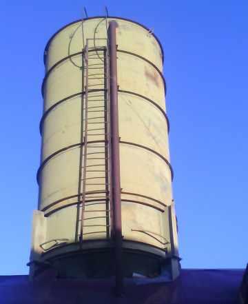 Силос для цемента 60 тонн с дозатором