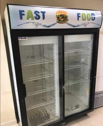 Шкаф холодильный Polair DM114Sd-S Стекло б/у