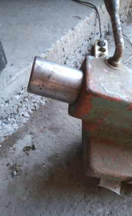Задняя бабка с товарного станка