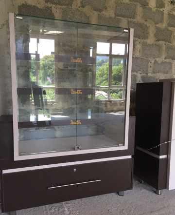 Шкафы - витрины