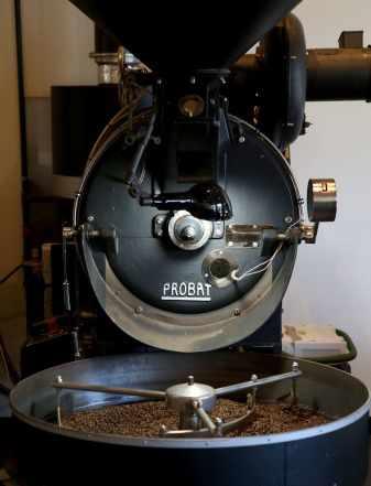 Свежеобжареный кофе