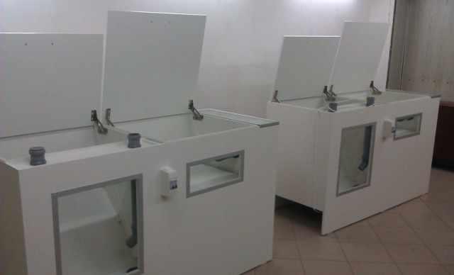 Аппараты для сухой чистки подушек