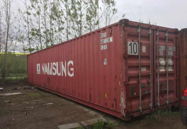 40 футовый транспортный контейнер
