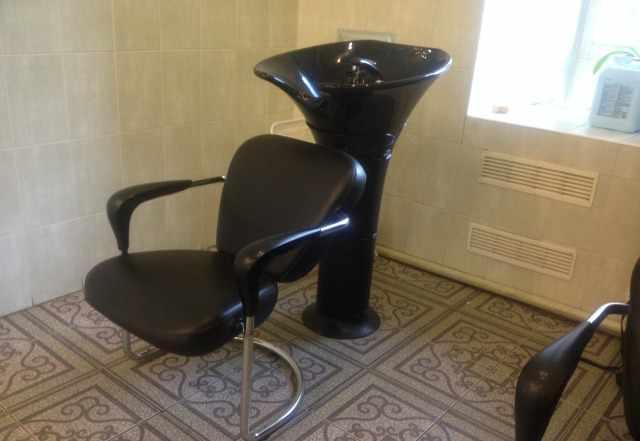 Парикмахерская мойка с креслом производство Италия