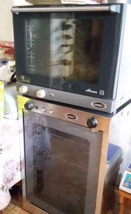 Конвекционная печь и расстойка unox