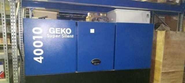 Дизель генератор - Geko super silent 400/10