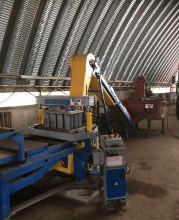 Вибростанок рифей-рам по производству бетонных изд
