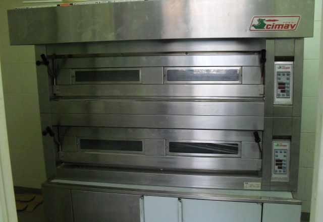Новая Итальянская печь cimav