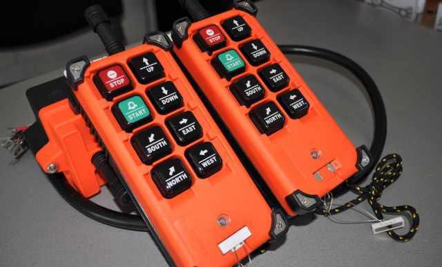 Дистанционные пульты управления для кран-балки